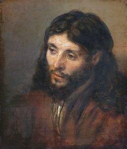 Chrystus napłótnie Rembrandta
