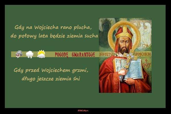 Wojciech. Święty nawagę złota