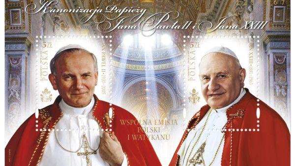 Wyjątkowa kolekcja znaczków z Janem Pawłem II