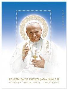 Wyjątkowa kolekcja znaczków zJanem Pawłem II