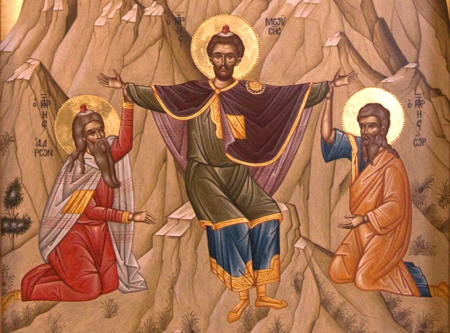 Znak krzyża. 7kodów Boga