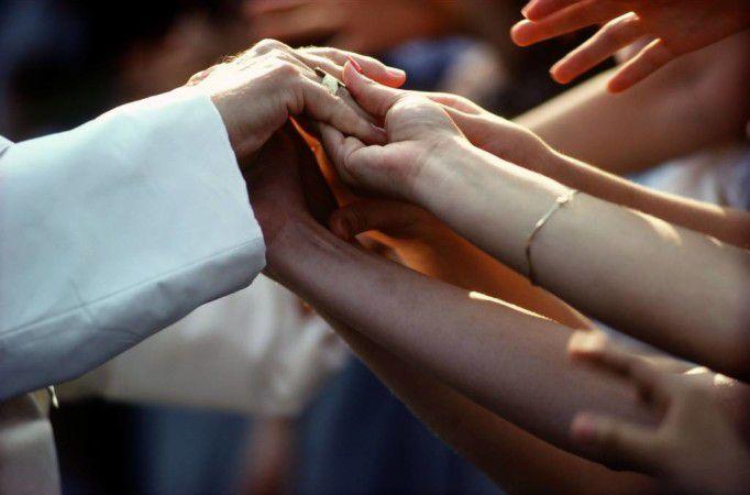 Spotkanie Jana Pawła II zwiernymi / fot.Gianni Giansanti