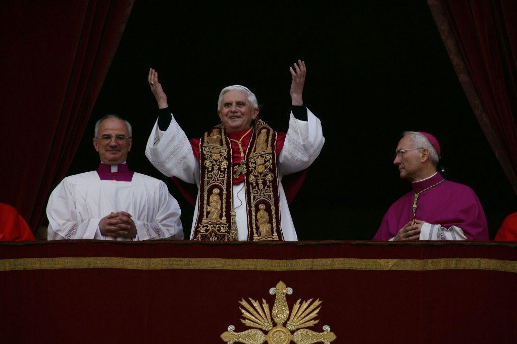 Benedykt XVI omiłości