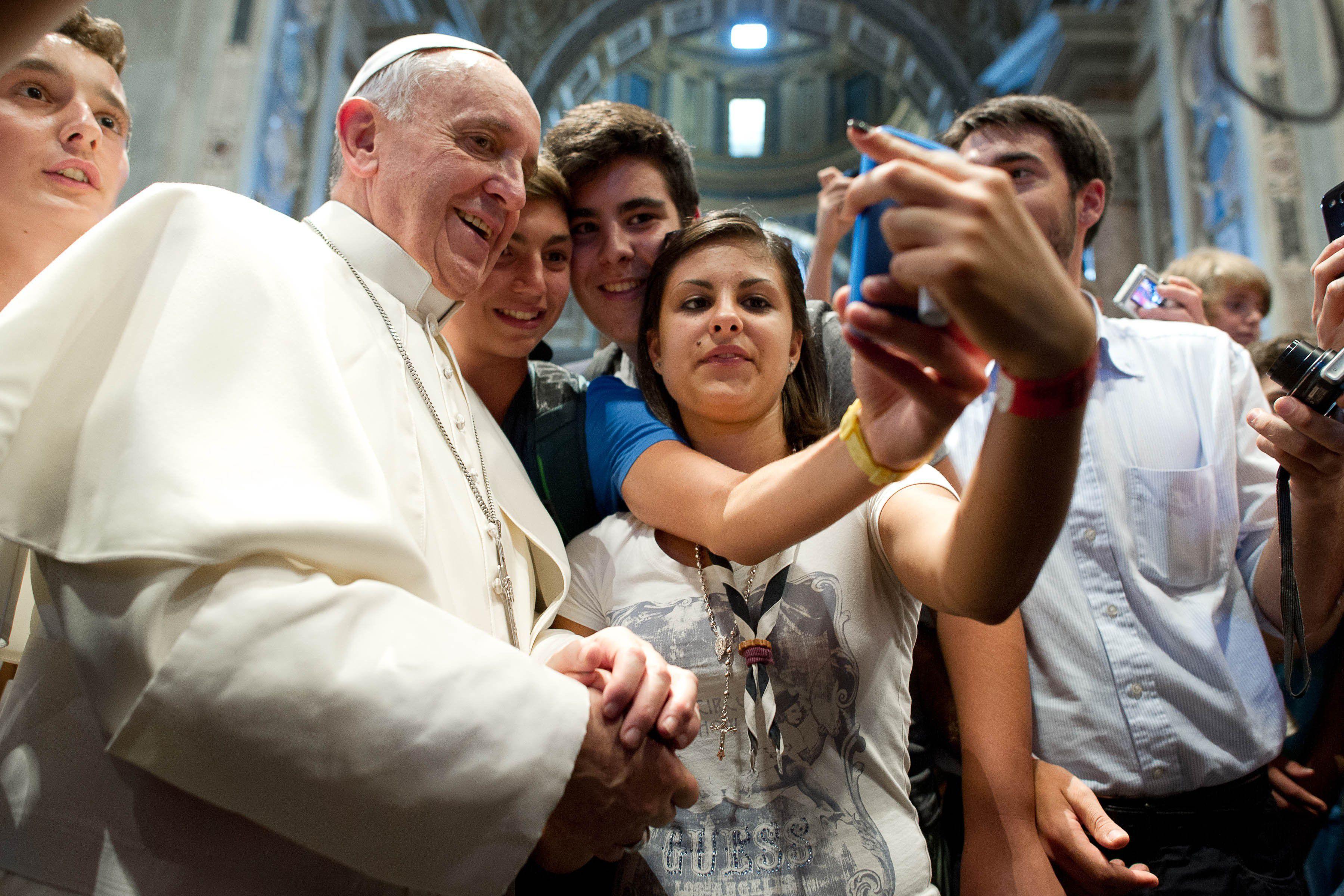 Papież Franciszek zarejestrował się naŚDM wKrakowie!