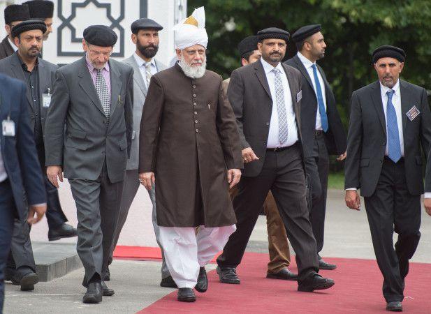 Opening of Bait-ul-Wahid mosque in Hanau