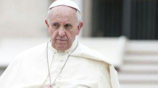 Papież stanowczo oobojętności
