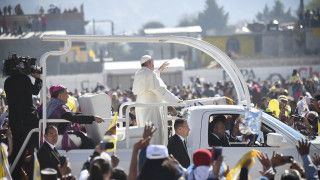Papież: Kolumbio, otwórz serce ipozwól się pojednać