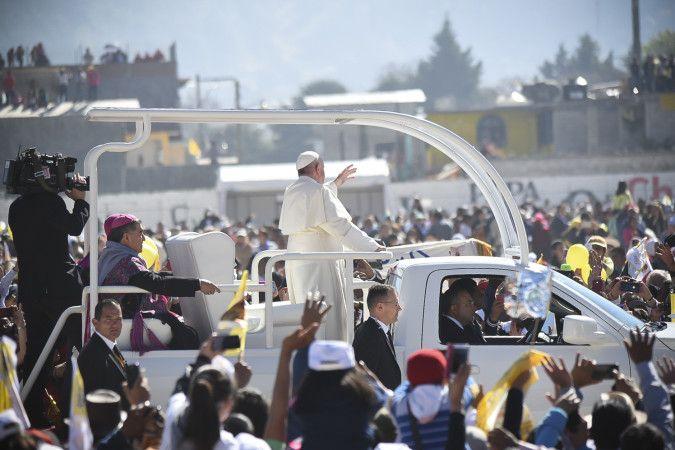 pope francis meksyk 2
