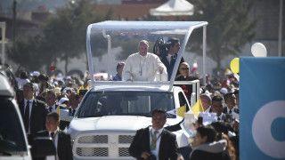 Papież Franciszek zatydzień wyruszy wkolejną pielgrzymkę