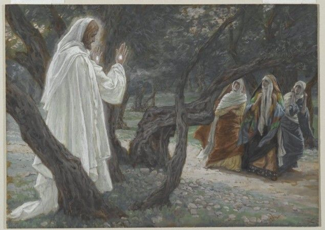 James-Tissot-holy-woman-grave-ressurection