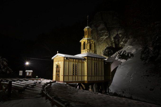 kaplica nawodzie