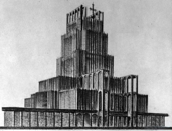 Świątynia_Opatrzności_-_projekt_Bohdana_Pniewskiego_1930