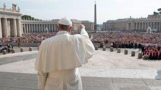 Franciszek wdzięczny zadialog zAsyryjskim Kościołem Wschodu