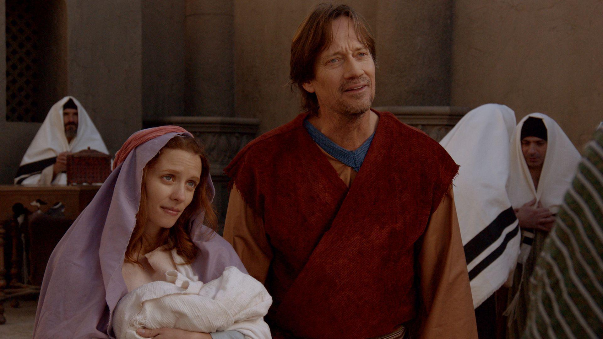 """Kadr z filmu """"Józef i Maryja"""""""