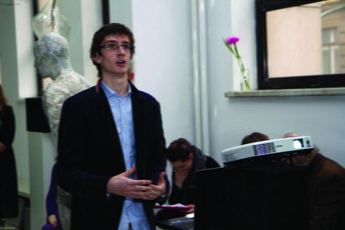 w czasie prezentacji projektu dyplomowego