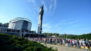 Wczoraj Łagiewniki odwiedziło 150 tys. pielgrzymów zcałego świata