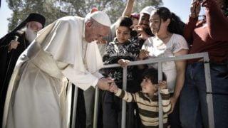 Papież odprawił Mszę św.wintencji uchodźców imigrantów