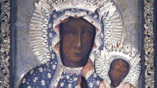 Dziś wnocy nałożenie nowych koron naObraz Matki Bożej