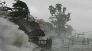 Modlitwa wczasie huraganu