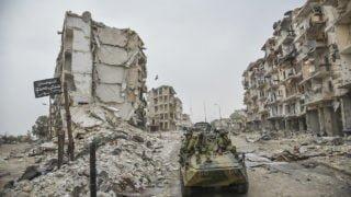 Aleppo zniknęło zpierwszych stron gazet