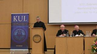 Dyrektor Caritas Polska na377. Zgromadzeniu Plenarnym KEP
