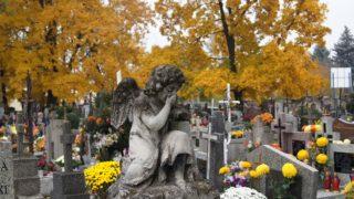 Bezdomni posprzątali groby nieznanych zmarłych