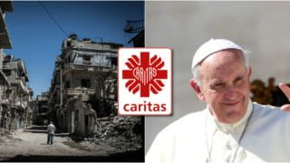 Papież pobłogosławił Ikonę – dar mieszkańców Aleppo dla Caritas Polska