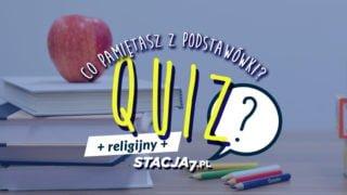Quiz religijny. Sprawdź, czy wiesz tyle, co siódmoklasista!