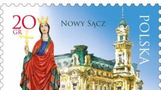 Św. Małgorzata nanowym znaczku Poczty Polskiej