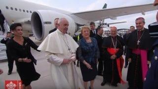 Chile oficjalnie powitało papieża Franciszka