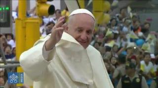 Mieszkańcy Limy zgotowali papieżowi gorące powitanie (nażywo)