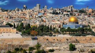 """Ziemia Święta: biskupi katoliccy zwizytą uchrześcijan wStrefie Gazy. """"Wierzymy, żepokój jest możliwy"""""""