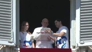 Papież zapisał się naŚDM wPanamie