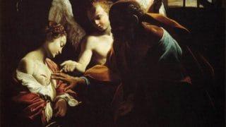 Święcenie soli, chleba iwody wdniu św.Agaty