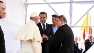 List gratulacyjny Prezydenta RP dopapieża Franciszka