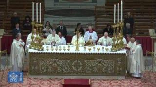 Franciszek wyświęcił 3biskupów, wtym Polaka