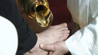 Franciszek odprawi liturgię Wieczerzy Pańskiej wwięzieniu