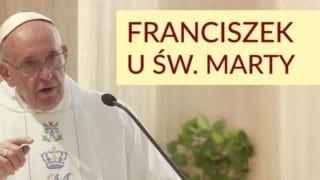 Franciszek: uwaga naducha światowości