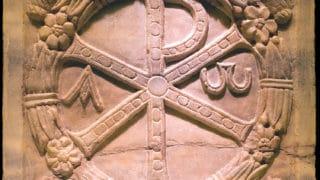 Starożytny mural chrześcijański podambasadą USA wRzymie