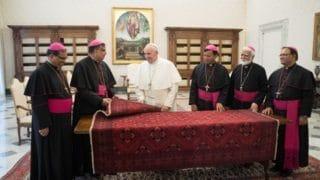 Papież poruszony wizytą biskupów zPakistanu