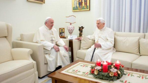 Franciszek: Rozmowy zBenedyktem XVI czynią mnie silniejszym
