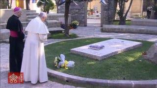 Papież zwizytą uDon Tonino