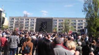 Warszawiacy uczcili rocznicę wybuchu powstania wGetcie