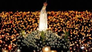 300 tys. wiernych wFatimie wrocznicę objawień