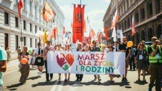 Marsze dla życia irodziny wniedzielę wcałej Polsce