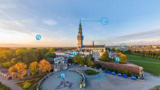 Wirtualny spacer poJasnej Górze w3D