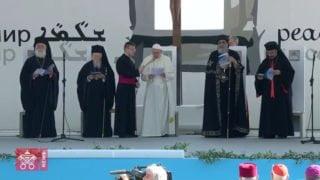 Papież wBari: Chcemy wspólnie rozpalić płomień nadziei