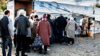 Rodziny zpogrążonego wwojnie Doniecka są nawakacjach wPolsce