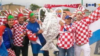Chorwackie parafie świętują poawansie piłkarzy dofinału