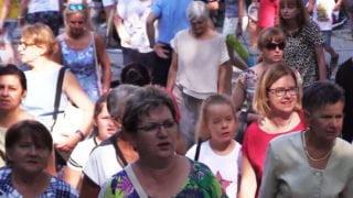 Kobiety pielgrzymowały doPiekar Śląskich